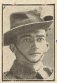 Charles Plummer.  Pictorial Supplement to the Queenslander, 25 September 1915 – The Roll of Honour, Queensland Casualties at the Front, p28