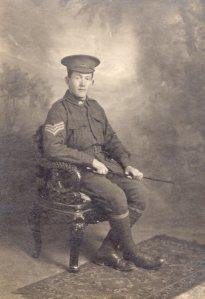 Unknown WWI soldier Forest Range / Lenswood collection. Photo courtesy E Hay.